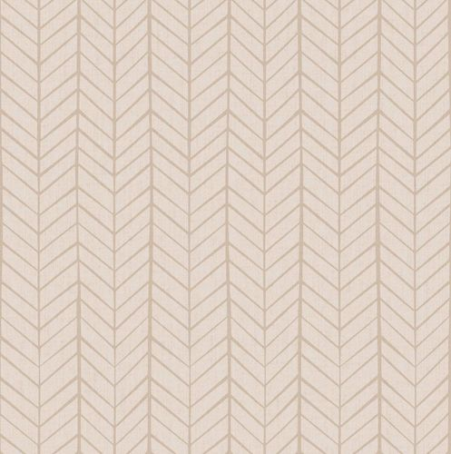 Kids Wallpaper stripped herringbone cream beige 005447 online kaufen