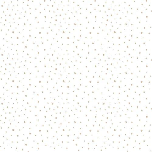 Kids Wallpaper dots white beige Babylandia 005451 online kaufen