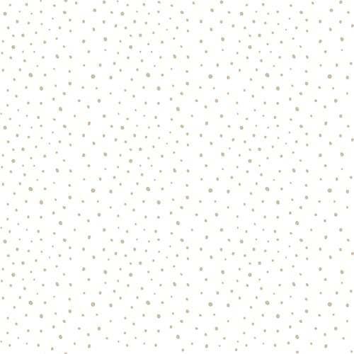 Kids Wallpaper dots white beige Babylandia 005451