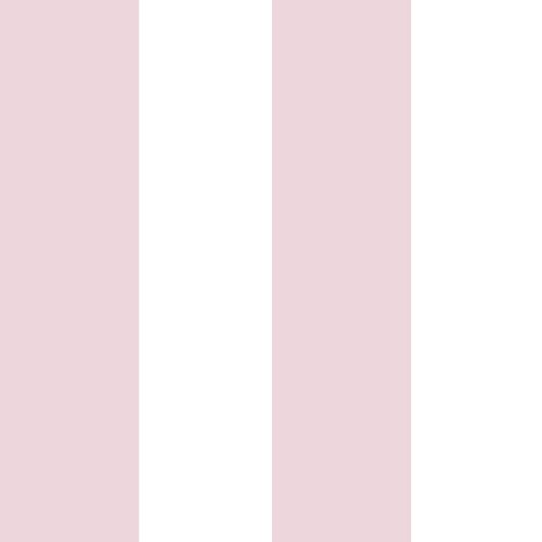 Kids Wallpaper stripes pink white Babylandia 005472 online kaufen