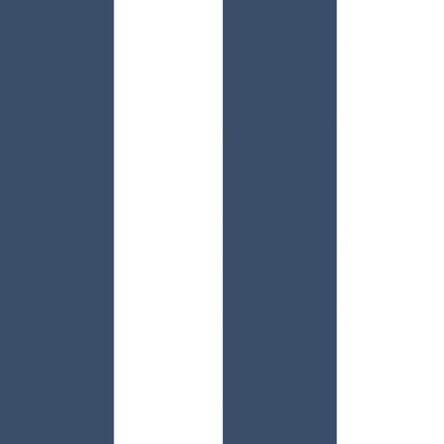Kids Wallpaper stripes white dark blue Babylandia 005476 online kaufen