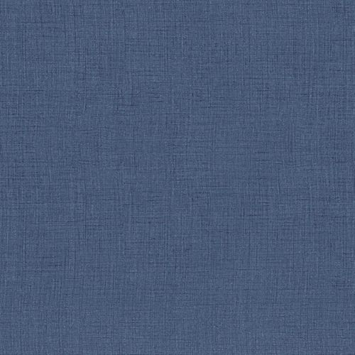 Kids Wallpaper textile plain dark blue Babylandia 005489