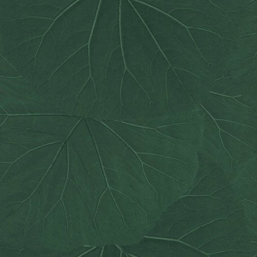 Non-Woven Wallpaper Leaves 3D Floral dark green 138997 online kaufen