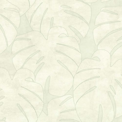 Non-Woven Wallpaper Leaves Watercolour grey green 139002 online kaufen
