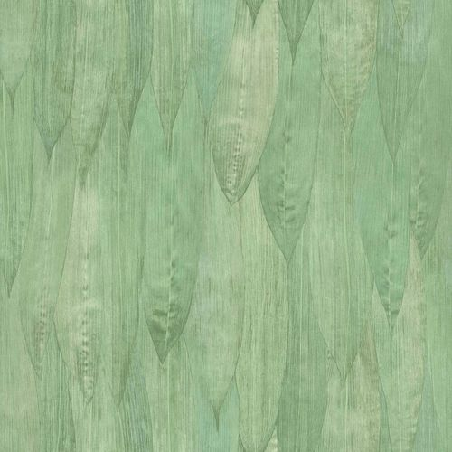 Non-Woven Wallpaper Reed Leaves Floral green brown 138986 online kaufen