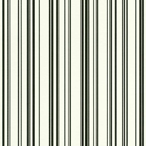 Non-Woven Wallpaper Stripes Pattern white black 138982 online kaufen