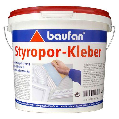 Baufan Styroporkleber 4 kg Eimer Klebstoff