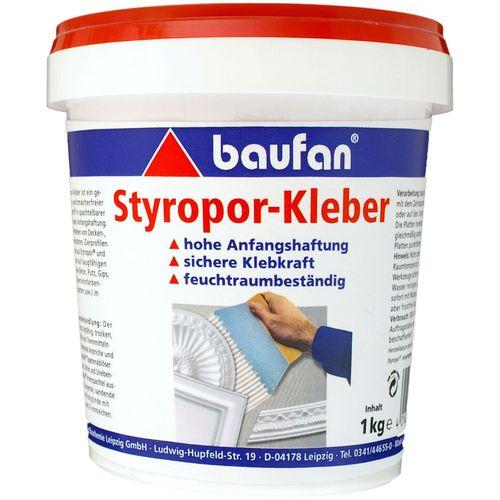 Baufan Styroporkleber 1 kg Dose Klebstoff