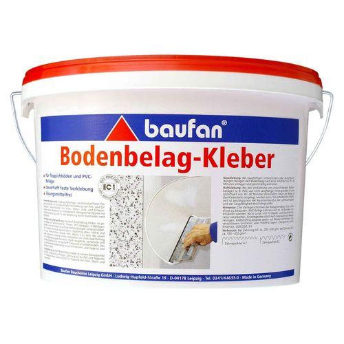 Baufan Bodenbelagkleber 6 kg Klebstoff Teppichkleber