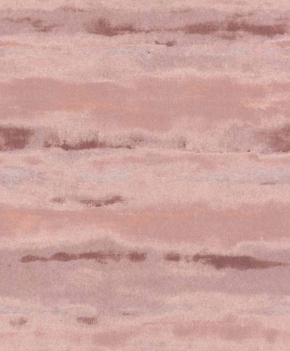 Non-Woven Wallpaper Aquarelle rose violett Gloss 296128