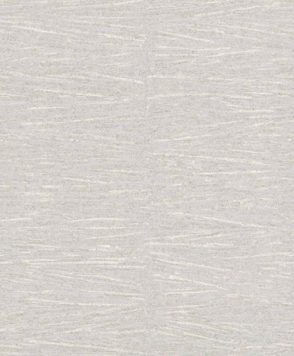 Non-Woven Wallpaper Lines grey silver Gloss 296234
