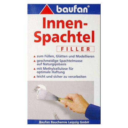 Baufan Innenspachtel 1 kg vielseitige Spachtelmasse