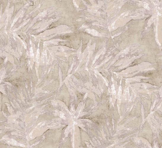 Non-Woven Wallpaper Watercolour Leaves dark blue 109417 online kaufen