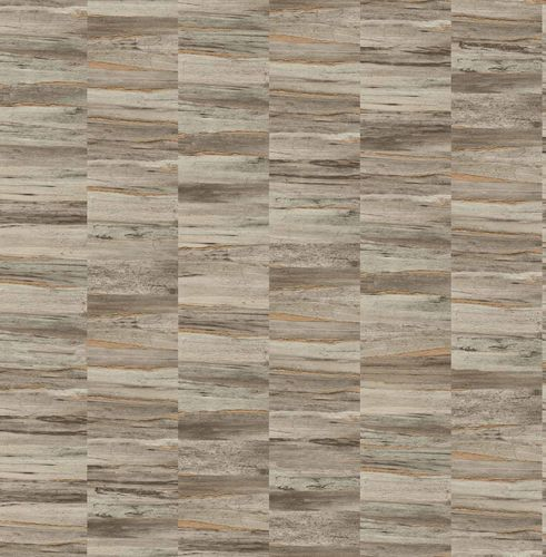 Non-woven Wallpaper Wooden Look brown copper Gloss 124904 online kaufen