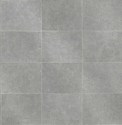 Non-woven Wallpaper Tiles anthracite Gloss 124909 online kaufen