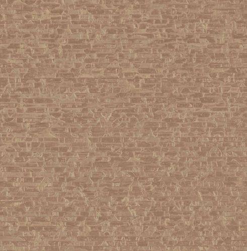 Vliestapete Riemchen bronze Glanz Artisan 124920
