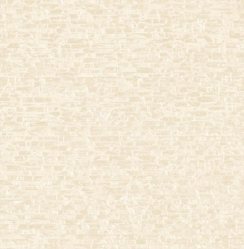 Non-woven Wallpaper Strappy Stones cream Gloss 124921 online kaufen