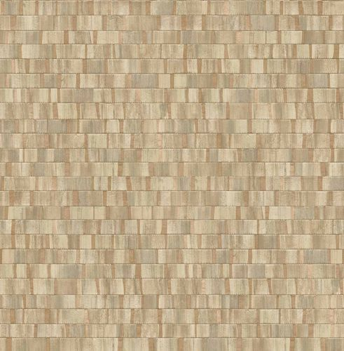 Non-woven Wallpaper Wood Stripes brown beige 124927 online kaufen