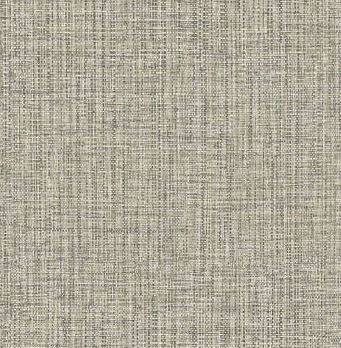 Non-woven Wallpaper Textile Look cream grey Gloss 124941 online kaufen