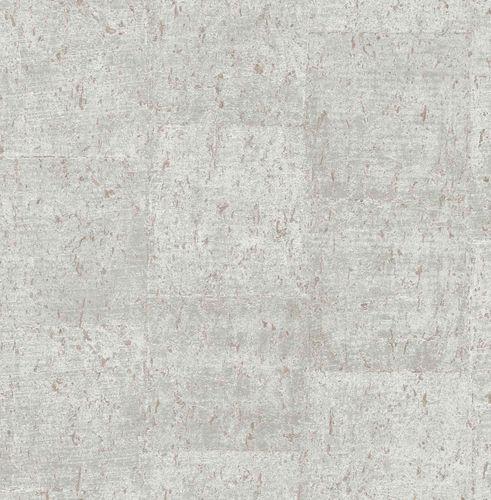 Vliestapete Kork meliert grau rotbraun Glanz 124950 online kaufen