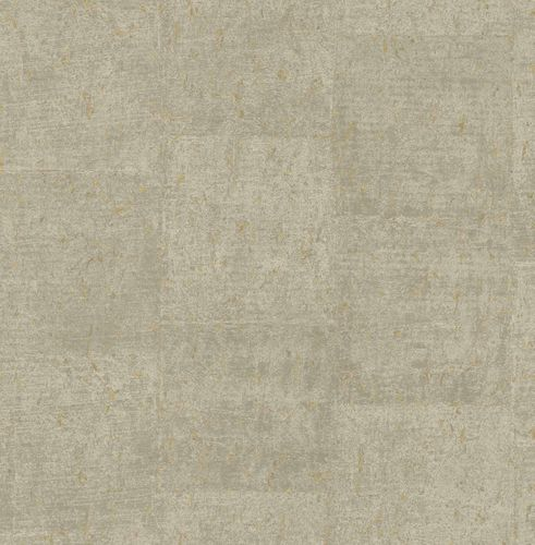 Non-woven Wallpaper Cork Mottled beige brown gold 124952 online kaufen
