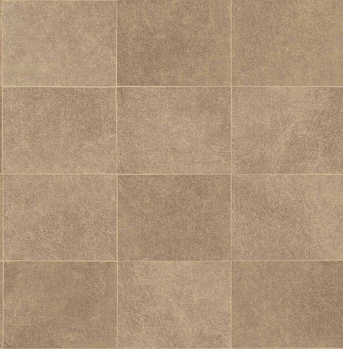 Non-woven Wallpaper Tiles gold Gloss 224910