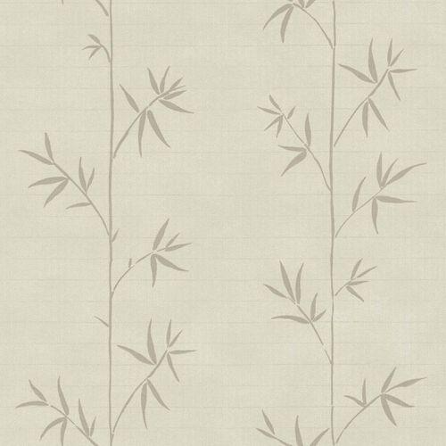 Non-Woven Wallpaper Bamboo beige light brown 148726 online kaufen