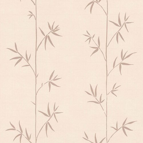 Non-Woven Wallpaper Bamboo pink brown Blush 148727 online kaufen