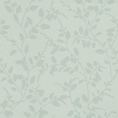 Non-Woven Wallpaper Floral Textile mint Blush 148729