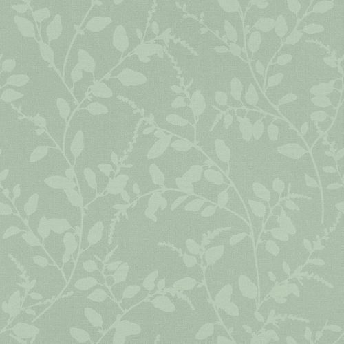 Non-Woven Wallpaper Floral Textile light green 148731 online kaufen