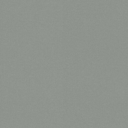 Non-Woven Wallpaper Plain Textile grey green 148746