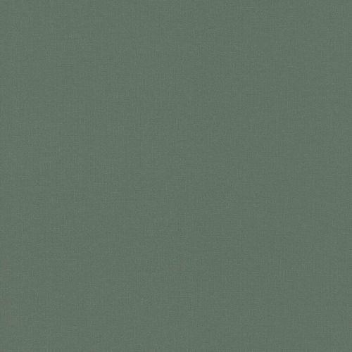Non-Woven Wallpaper Plain Textile dark green 148748