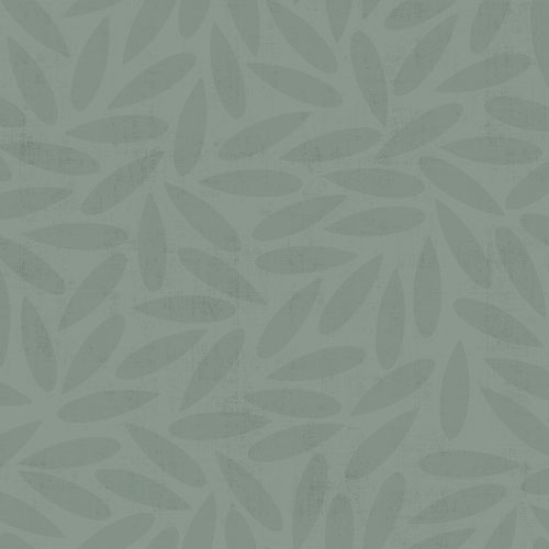 Non-woven Wallpaper Leaves modern turquoise 012022