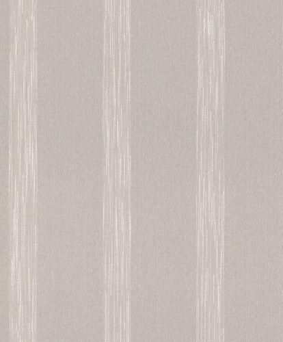 Textiltapete Streifenmuster grau Glanz Mondaine 086057 online kaufen