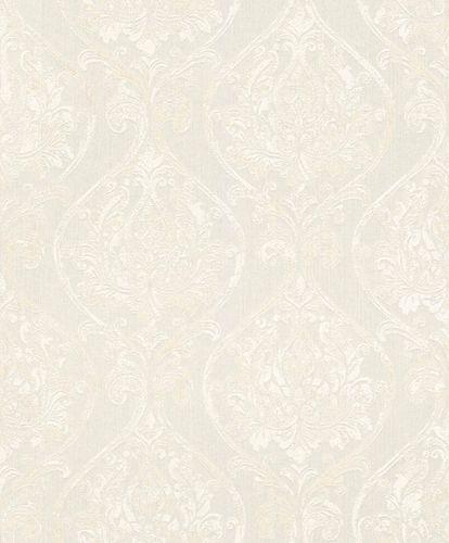 Textile Wallpaper Ornament Round white Gloss 086217 online kaufen