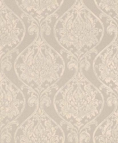 Textile Wallpaper Ornament Round beige cream Gloss 086231 online kaufen