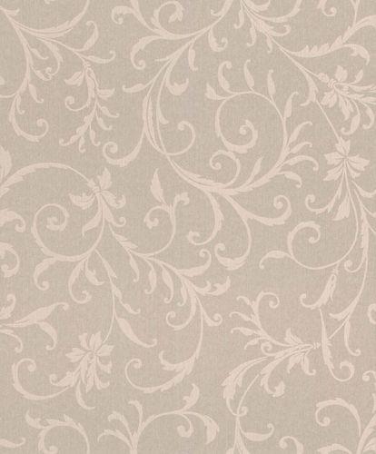 Textiltapete Ranken Ornament beige Glanz Mondaine 086262 online kaufen