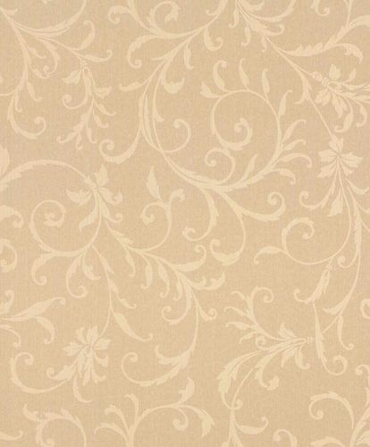 Textile Wallpaper Tendrils Ornament apricot Gloss 086279 online kaufen