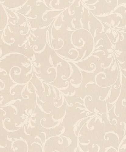 Textile Wallpaper Tendrils Ornament cream Gloss 086286 online kaufen