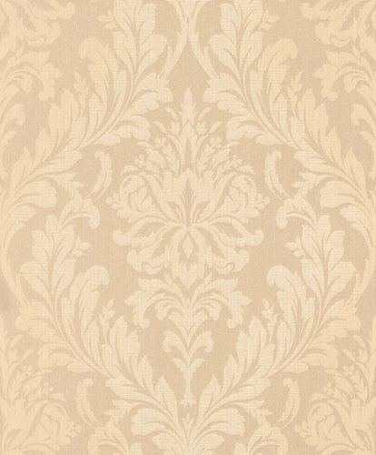 Textile Wallpaper Ornament apricot cream Gloss 086330 online kaufen