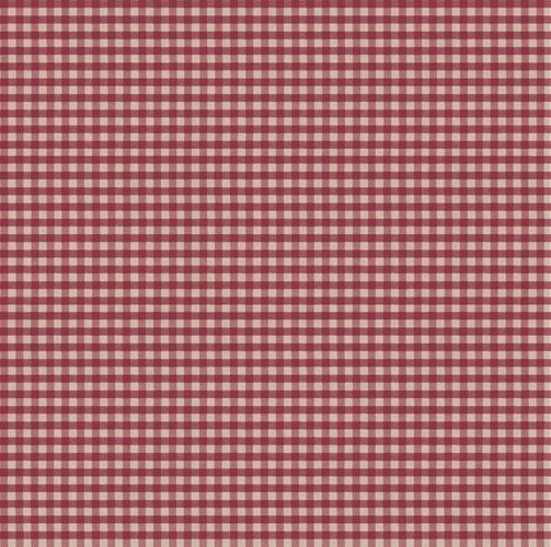 Vinyl Wallpaper check pattern beige red 007868