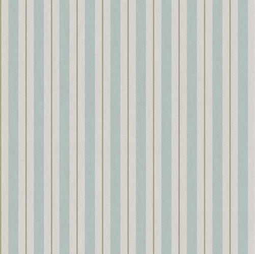 Vinyl Wallpaper stripes beige turquoise gold 007876 online kaufen