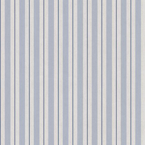 Vinyl Wallpaper stripes pattern taupe dark blue 007877