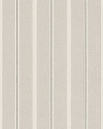 Non-Woven Wallpaper Stripes greige silver Glitter 57464 online kaufen