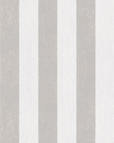Non-woven wallpaper stripes plaster taupe white 6757-20 online kaufen