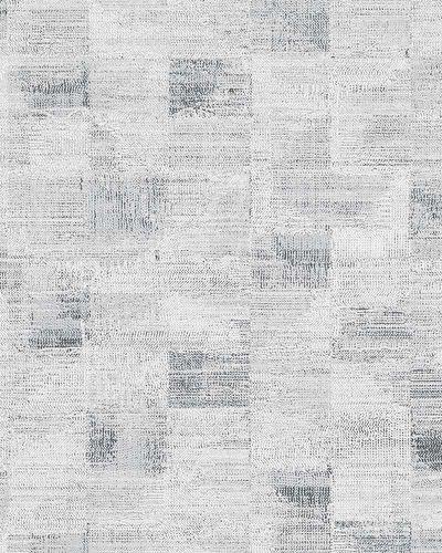 Vliestapete Textil Kacheln weiß schwarz Novamur 6759-20 online kaufen