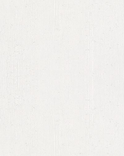 Vliestapete Linien Strukturiert Glanz weiß Ella 6760-30