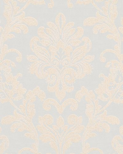 Non-woven wallpaper baroque glitter gloss cream 6762-30 online kaufen
