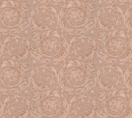 Wallpaper Versace Home Ornament rose gold Metallic 366922