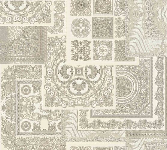Wallpaper Versace Home Diamonds cream Metallic 370485 online kaufen